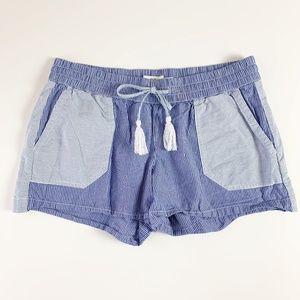 Vineyard Vines Stripe Mix Pull On Shorts Blue